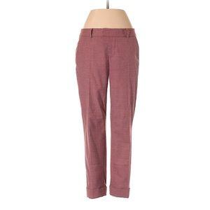 CLUB MONACO Women's Rose Pink Trousers size 8